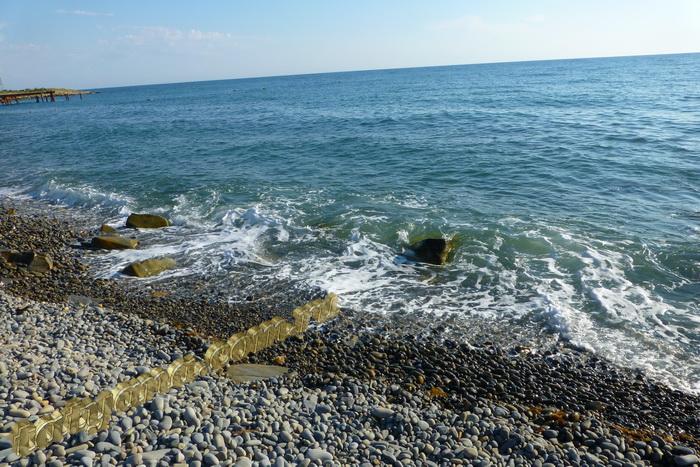 Малый Утриш пляж, море