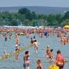 Анапа август городской пляж - море