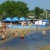 Анапа центральный пляж июнь речка Анапка