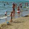 Анапа центральный пляж июнь дети, море